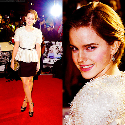 "8 best appearance of emma watson in 2011 (x)          #8 ϟ ""My Week with Marilyn"" premiere in London"