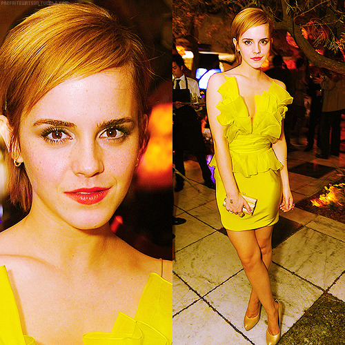 8 best appearance of emma watson in 2011 (x)          #5 ϟ MTV Movie Awards - After Party