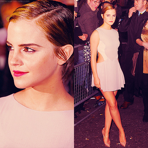 8 best appearance of emma watson in 2011 (x)          #3 ϟ ELLE Style Awards 2011
