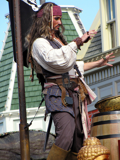 Jack Sparrow by disneylori on Flickr.