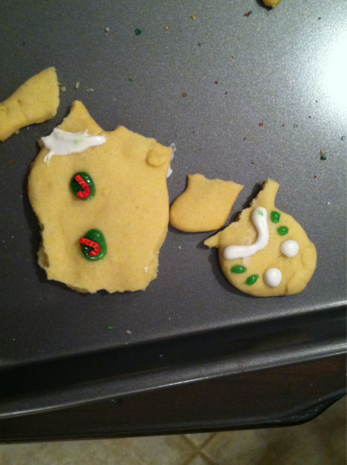 Poor gingy :(