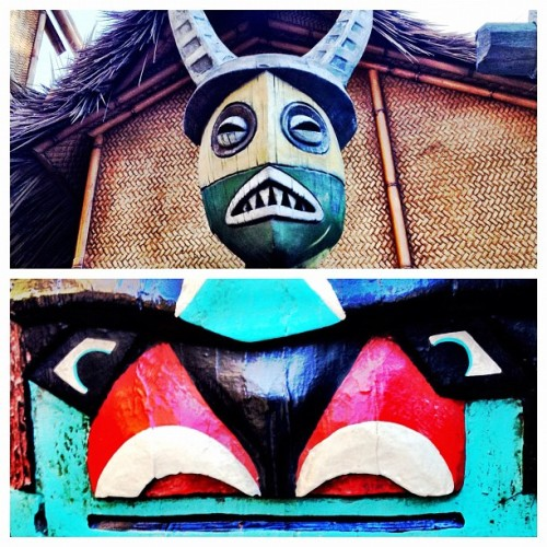 Tiki Room. #cameraplus #disneyland  (Taken with Instagram at Disneyland)