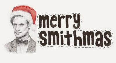 thatawkwardginger:  sienaeyrich:  MERRY SMITHMAS!!!!!!!!!  I remember this one time someone stole my art on tumblr and then the Doctor Who blog reblogged it Christmas Eve and I was bewildered because my art had so many notes but it wasn't from me. Then I confronted the DW blog about it and they linked it directly to me. Best Christmas present ever :3(This is that piece, hahaha.)