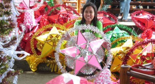 (lotsa stars, Philippine Christmas Parol/Lantern) Merry Christmas everyone!