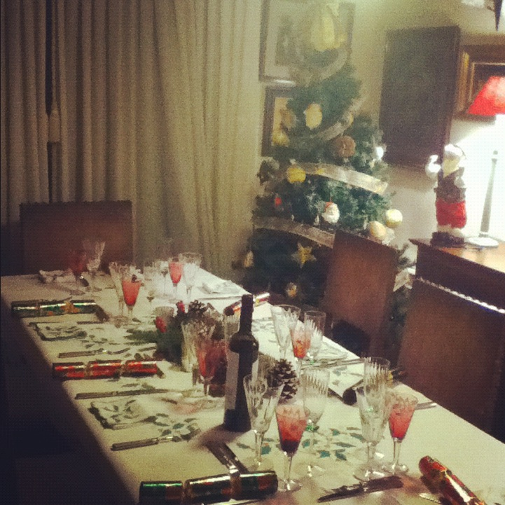 A Merry Christmas!  Filled with laughter, loudness, amazing Swedish & Portuguese food, and the best thing we have and cherish the most: a crazy and wonderful family!