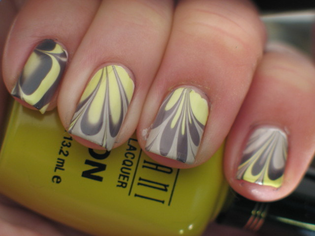 funky totally 80s water marble (the elusive right hand! lol) left is below: