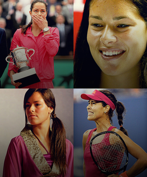 30 days of tennis challenge. | Day 2, Favorite Women's Player.  - Ana Ivanovic. (SRB).