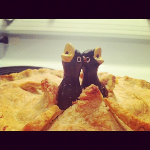 Pie birds (Taken with instagram)