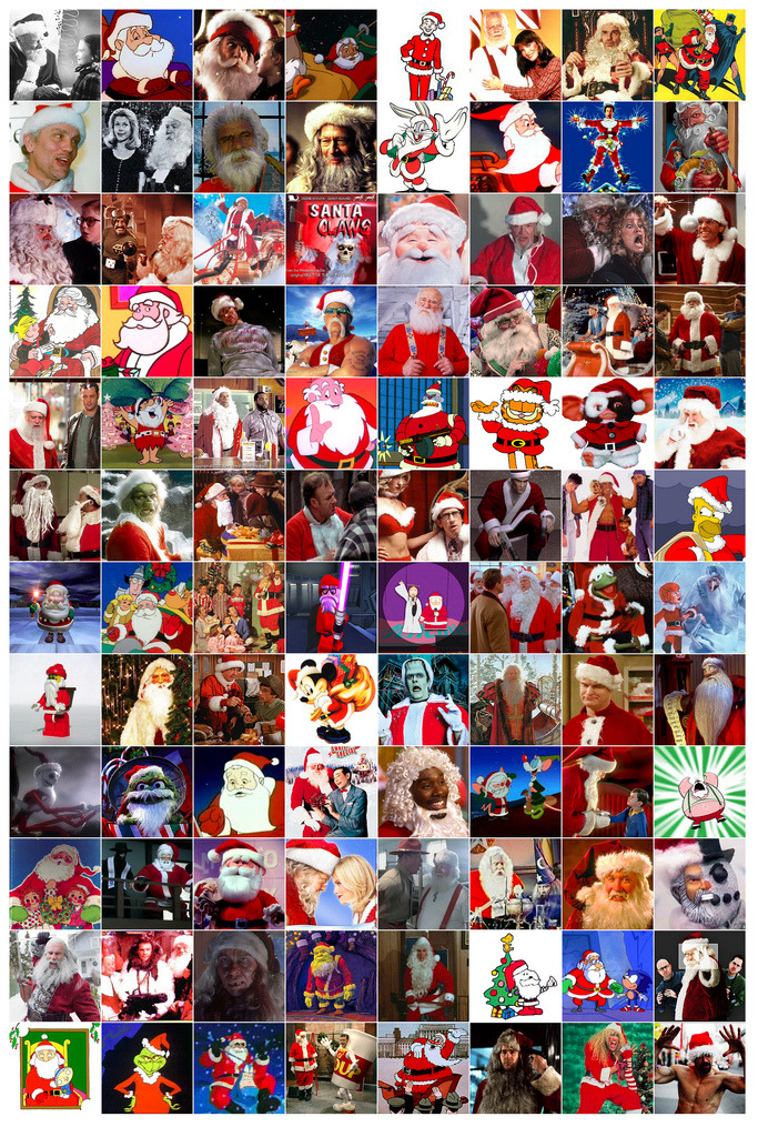 So Many Santa Clauses Are Comin' To Town