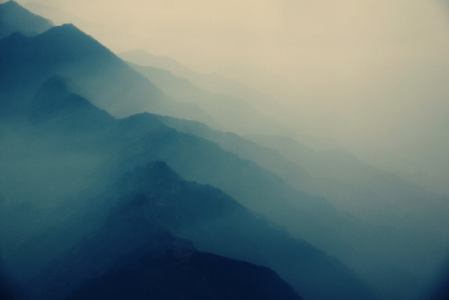 Somewhere in Between #3 - Morning Fog by Mentalitätsbestie on Flickr.