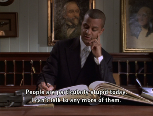 gpoy. Also, this reminds me that I got seasons 4-7 of Gilmore Girls on DVD for Christmas, so I will have plenty of TV to watch after AJ is born.