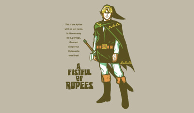 Limited Edition Tshirt: A Fistful Of Rupees by Ninjaink is on sale for $10 from ShirtPunch for 24 hours only.