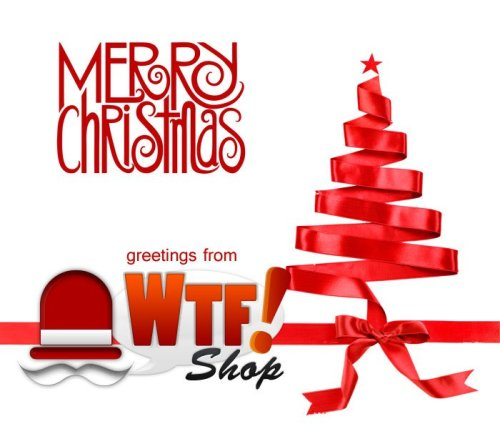 wtfshop:  HAPPY HOLIDAYS EVERYONE! Have a great one! :)