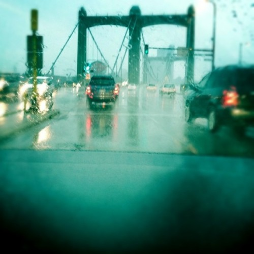 First instagram, rainy Nordeast.