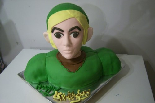 link's dead stare bores a hole through your soul