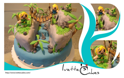 cute outset island cake!!