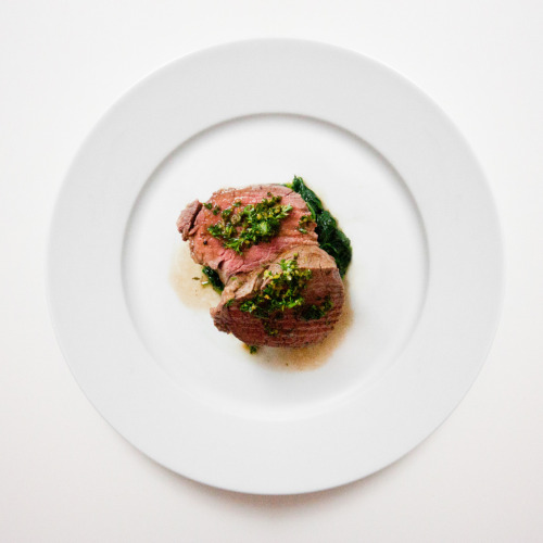 frenchcuisse: GLAZED FILET GREMOLATA.