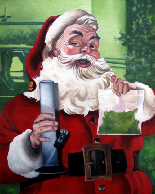 stonerparty:  merry christmas to all and to all a stickiest of the ickiest night