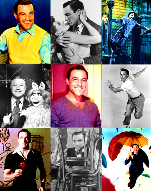 Grace's Celebrity Alphabet  → G  Gene Kelly