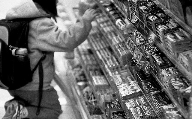 Looking for the candies on Flickr.Zorki4 Jupiter9, Kodak TMY-2 D76, 1+1