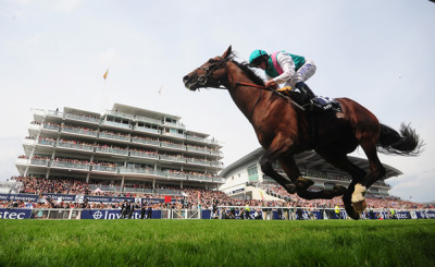 Workforce flies home first by 7 lengths in the 2010 Epsom Derby