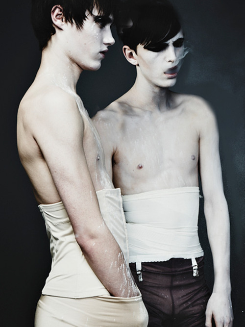 Alex Dunstan & Callum Wilson by Rafael Stahelin for S Magazine (thanks janeanger)