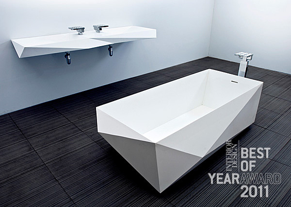 Bath/Fixtures. Crystalline collection for AFNY by Hariri & Hariri – Architecture.
