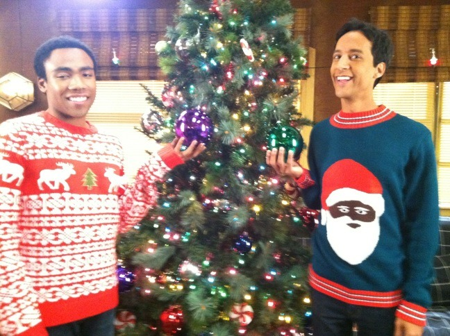thedailywhat:  So This Also Happened of the Day: Troy and Abed on Christmas Morning! [@dannypudi.]