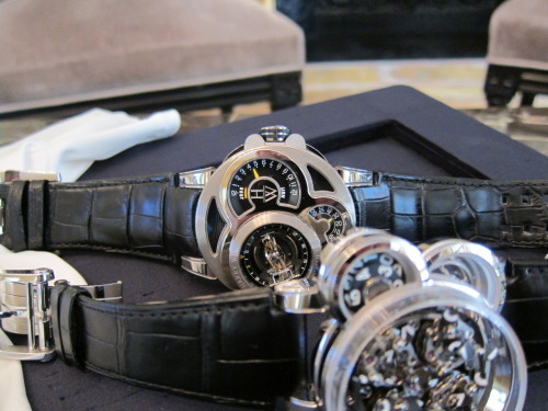 Happy Holidays From Harry Winston  (The $605,000 Histoire de Tourbillon 2 + The $230,000 Opus XI)