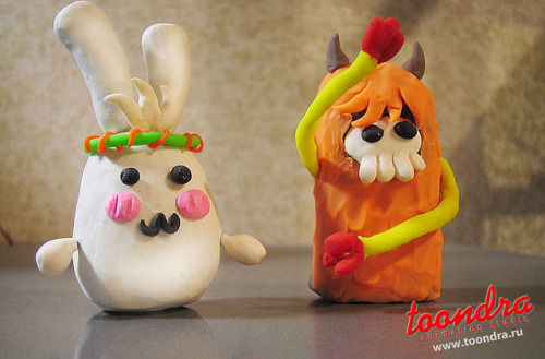 kawaii-plasticine-monsters-2 on Flickr.