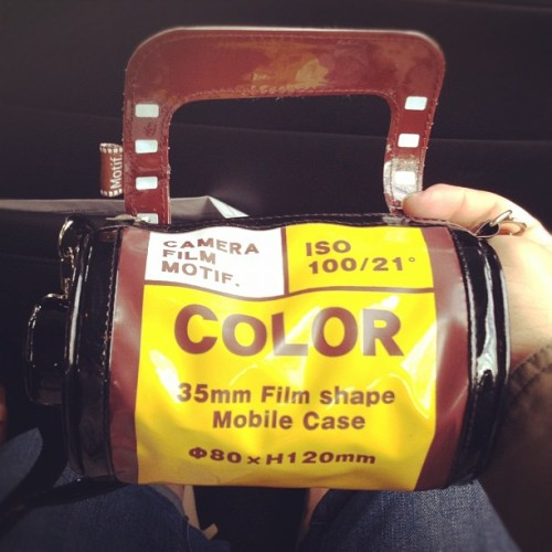 Film roll purse!!!! #kawaii thanks @paulawallaa (Taken with instagram)