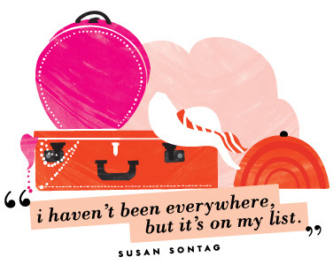 katespadeny:  make a list see our travel essentials