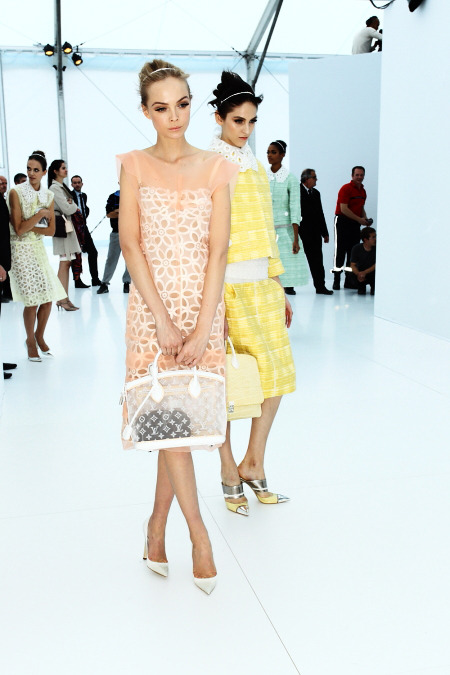So pretty. Louis Vuitton spring 2012