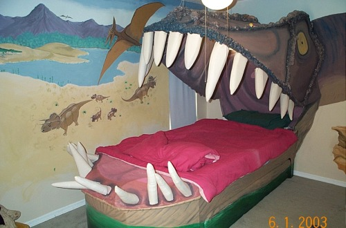 Awesome Jurassic Bedroom