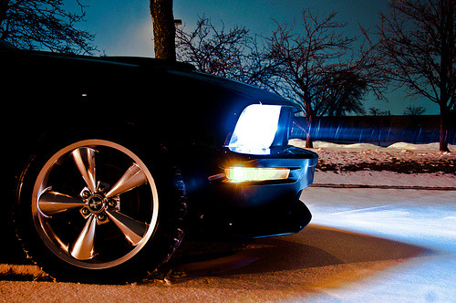 stock ride height  (by Glenn E. Davis)