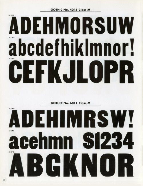 Woodtype: Selective Emphasis for Fine Typography by Hamilton, 1960, page 10