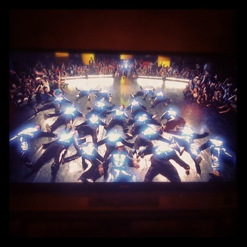 adelaidalily:  Nothing like STEP UP 3 on Christmas night :) (Taken with instagram)