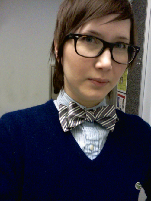 One of the awesome bowties given to me for my birthday!  -sleepypasture