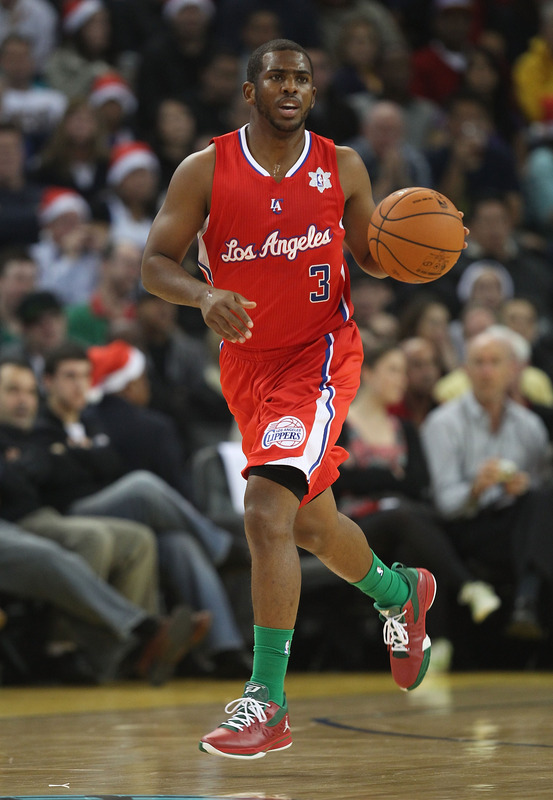It wasn't a lob fest or a dunk party, but Chris Paul was that dude for the Clippers tonight.  (Photo by Jed Jacobsohn/Getty Images)