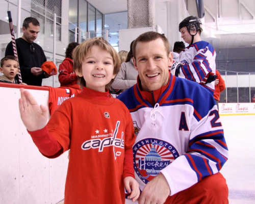 MY star capitals player… Andrew Laich