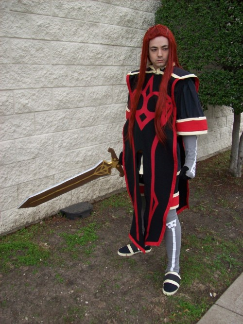 My husband as Asch at Yulecon 2011 :)