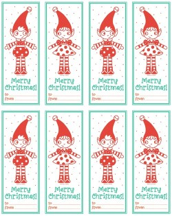 Elfie Gift Tags click here to download! Hope you like it!! Happy Christmas!!