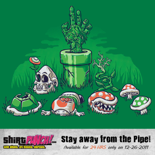 Available for sale today only for 24 hours at shirtpunch. Click here to purchase. Thanks for looking!