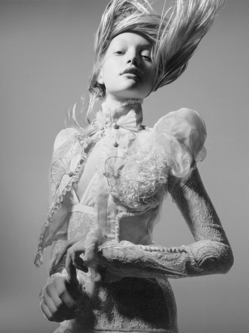 suicideblonde:  Gemma Ward photographed by Nick Knight for Pop Magazine, Spring/Summer 2006