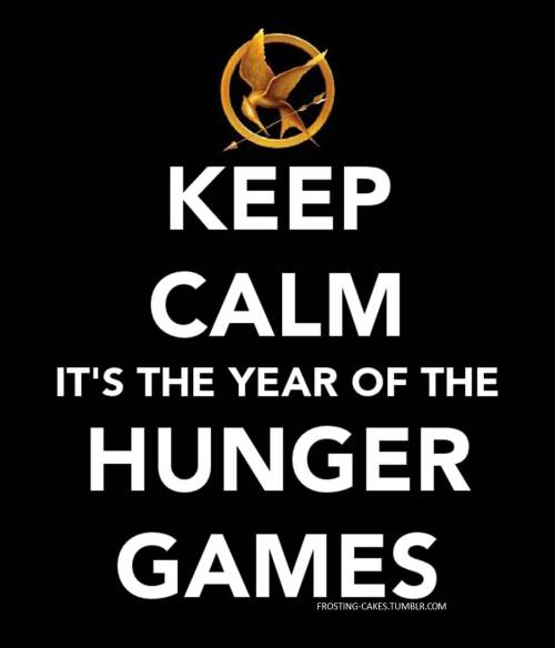 lenslooker:  HAPPY NEW YEAR! IT'S THE YEAR OF THE HUNGER GAMES.