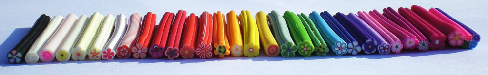 Little fimo rods :)