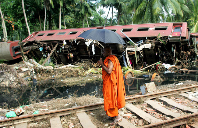 Today is the 7th anniversary of the 2004 tsunami. May the victims of this devastating disaster find peace and happiness.