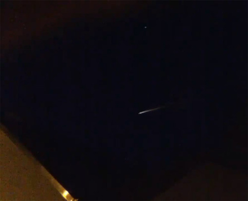 Santa Soyuz? Rocket Reentry Dazzles Europe On Christmas Eve, videos of a strange streak of light over Europe surfaced… it wasn't Santa's sleigh.