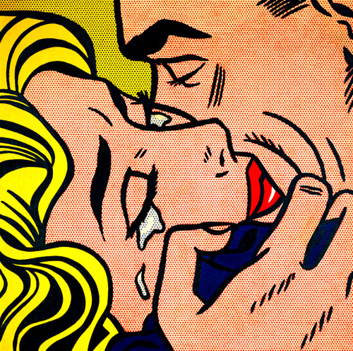 Roy Lichtenstein, Kiss
