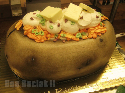 love-me-some-cake:  3D Baked Potato by donbuciak on Flickr.